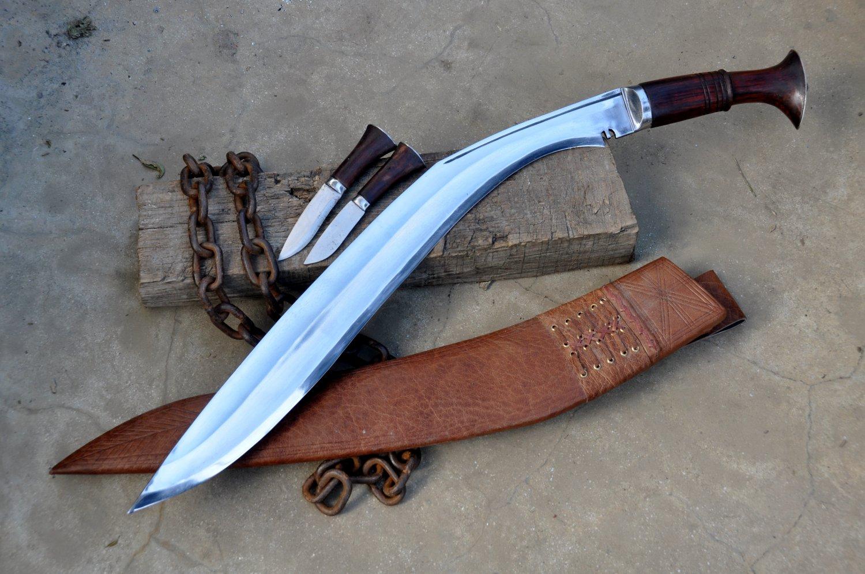 16 inches blade Gorkhali version kukri/khukuri knife-Handmade in Nepal