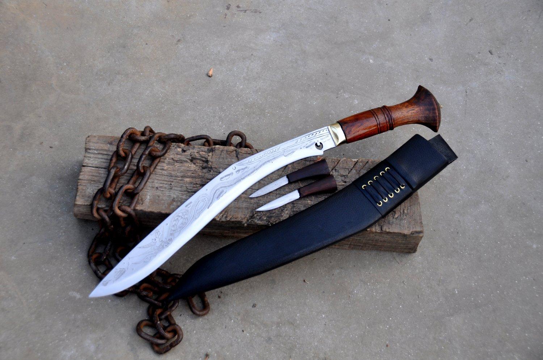 15 inches blade traditional Dragon sirupate kukri/khukuri knife-Handmade in Nepal