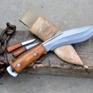 6 inches Blade Afhgan kukri knife-khukuri-hand forged khukuri knife from Nepal