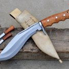 8 inches Handmade iraqi kukri/khukuri-Full tang-Water Tempered-Ready to use
