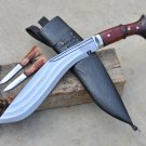 12 inches 3 fullers Blade kukri/khukuri knife-Handmade in Nepal