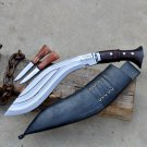 10 inches 3 chirra kukri-Gurkha knife-knives from Nepal-Handmade kukri from Nepal