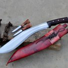 15 inches Double fuller kukri/khukuri knife-Handmade in Nepal