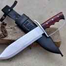 12 inches Blade Hunting Bowie-Handmade Bowie-Hunting knife-full tang machete