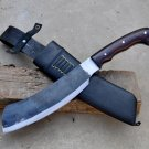 12 inches Real working cleaver knife-Parang knife handmade in Nepal-Balance water tempred