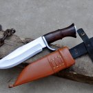 8 inches Blade Bowie knife-Handmade Bowie-Hunting knife-full tang machete-Ready to use