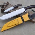 14 inche custom Predator knife-Handmade knife-hand forged knife from Nepal-Ready to use