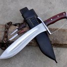 12 inches khukuri-Handmade kukri machete-Hunting knife-full tang machete-Ready to use