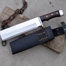 10 inches Blade Hammering cleaver knife- cleaver knives-Handmade in Nepal-Ready to use