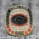 2020 Sugar Bowl Champions Georgia Bulldogs championship RING 7-15S