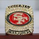 2019 2020 SAN FRANCISCO 49ERS NFC Super bowl Championship Ring 8-14S