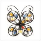 37873 Butterfly Iron Candleholder