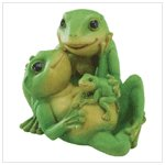 35634 Frog Family Figurine