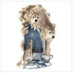 37957 Two Wolves Nightlight