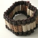 Beaded Wood Stretch Bracelet NEW Tribal Style S!
