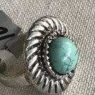 Turquoise Round Stone Ring