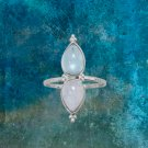 Oval Green Chalcedony Ring Sterling Silver Best Prices online!