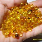 10 grams Transparent Genuine Baltic amber baroque shape loose beads without hole