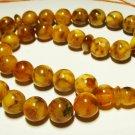 Islamic 33 Prayer Round beads Natural Baltic Amber pressed  Tasbih 26,79gr B-571