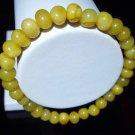 Amber bracelet Natural baltic Amber butterscotch beads elastic 6.23gr. A-296