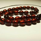 Islamic 33 Prayer beads Natural baltic Amber pressed Misbaha Tasbih 18.72grB-886