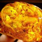 Massive Natural Baltic Amber piece stone amber raw Genuine amber 35.88gr  N-13