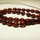 Islamic 33 Prayer beads Genuine Baltic Amber pressed misbaha Tasbih 14.51gr B879