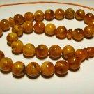 Islamic 33 Prayer Beads Genuine baltic Amber pressed Tasbih Misbaha 26,61grB-575