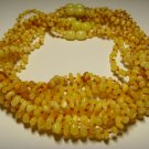 Lot of 10 Baby Genuine Butter Baltic Amber Necklaces 31,73gr. F-27