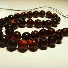 Islamic 33 Prayer beads Genuine Baltic Amber pressed Misbaha Tasbih 27.60gr.B924