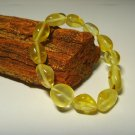 Amber bracelet Natural baltic Amber bracelet transparent  pieces  8.12gr. A-507