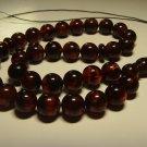 Genuine Baltic AMBER pressed Islamic 33 Prayer beads Tasbih  27.71gr B-916