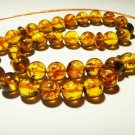 Islamic 33 Prayer beads Genuine Baltic Amber pressed Tasbih Misbaha 36.43grB114