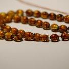 Islamic 33 Prayer beads Genuine Baltic pressed amber Tasbih Misbaha 27.63grB-856