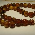 Islamic 33 Prayer beads Genuine Baltic Pressed Amber Tasbih   36,67grB-721