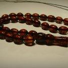 Islamic 33 Prayer beads Genuine Baltic pressed Amber Tasbih 15.28gr B-878