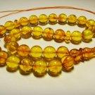 Islamic 33 Prayer beads Natural Baltic Amber pressed  tasbih  20,29gr B-679