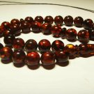 Islamic 33 Prayer beads natural baltic amber beads pressed  Tasbih  27.45grB-920
