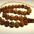 Islamic 33 Prayer beads Genuine Baltic Amber pressed Tasbih misbaha 26,96grB-549