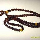 Buddhist Mala Genuine Baltic Amber 108 Prayer Round Beads Mila  8.78gr A-423