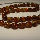 Islamic 33 Prayer beads Genuine Baltic Pressed Amber Tasbih rosary 28,12grB773
