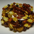 Lot of 10 Wholesale  Baby  Genuine Baltic Amber Bracelets 16.87gr. C-149