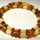 Natural Genuine Baltic Amber Necklace mixed beads  for ladies 11.46 gr. A-133
