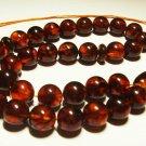 Islamic 33 Prayer Beads Natural baltic Amber pressed Tasbih Muslim 27,21grB-597
