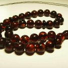 Islamic 33 Prayer beads Natural baltic Amber pressed Tasbih Misbaha 27.81grB-87