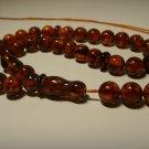 Islamic 33 Prayer Beads Genuine Pressed  Baltic Amber Tasbih 16.90gr B-822