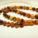 Islamic 45 Prayer beads Genuine Baltic Amber pressed beads Tasbih  37.39gr.B864