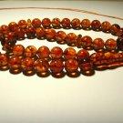 Islamic 45 Prayer beads Genuine baltic Amber pressed beads Tasbih  48.67gr B105