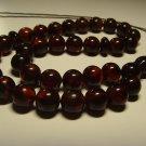 Natural Baltic AMBER pressed Islamic 33 Prayer beads Tasbih  20.68gr B-913