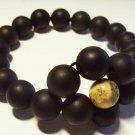 Amber Bracelet Natural baltic Amber pressed beads elastic unisex 16.08gr. A-682